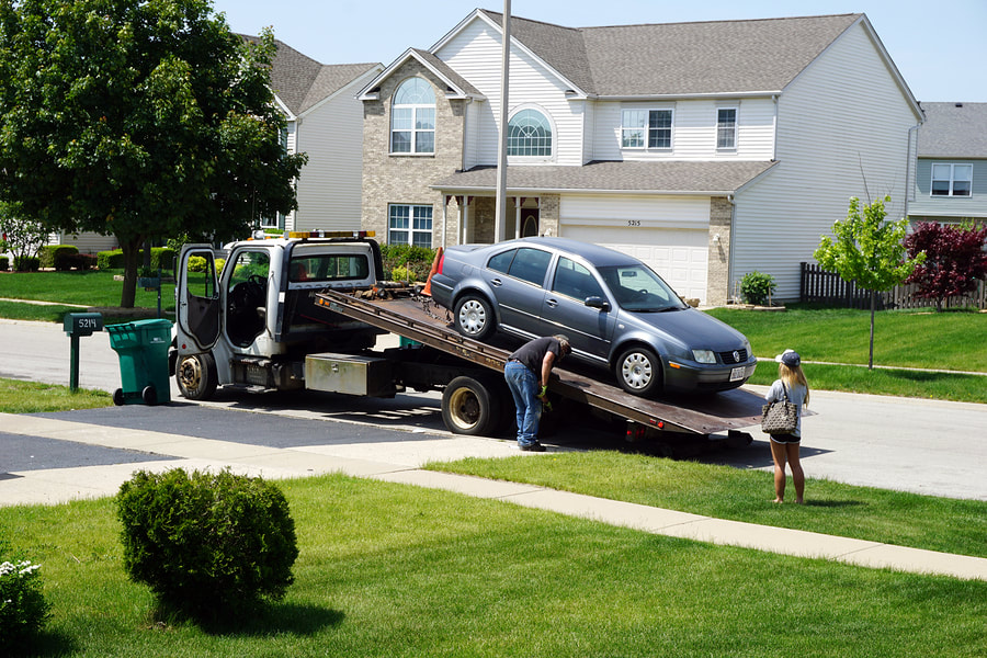 towing service for private property